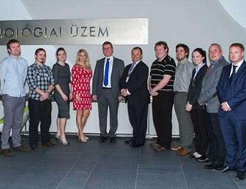 KPC Hungarian Team greets Irish Ambassador